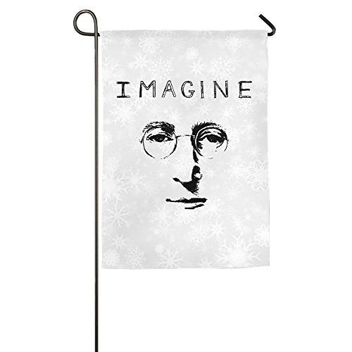 JFD John Lennon Imagine Eyes Glasses Indoor Flag - Austin Eyeglasses