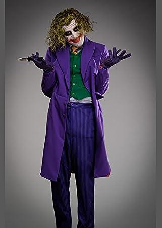 Magic Box Traje de Joker Adulto Deluxe Grand Heritage Large (42-44 ...