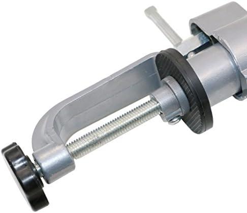 B Baosity 360度回転調整可能なベンチクランプゴムグリップ顎ピボットクランプ副