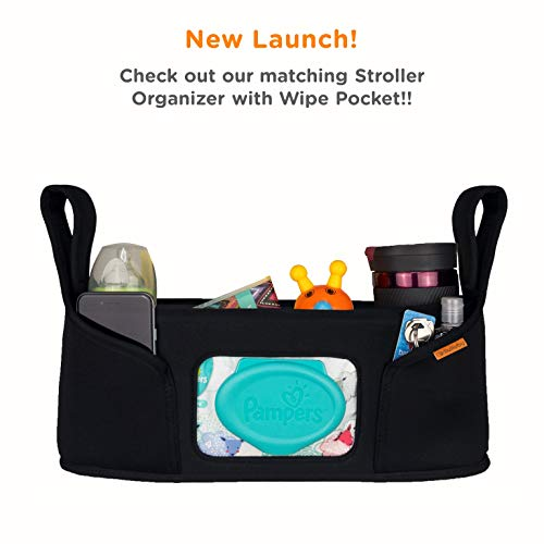 liuliuby Smart Changing Kit - Portable Diaper Changing Pad with Front Wipe Pocket - Extra Large Mat for Baby and Toddler by liuliuby (Image #6)