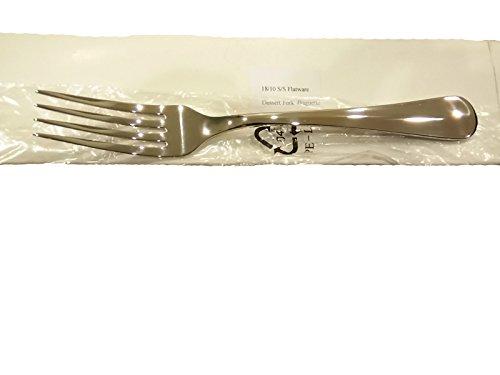 Dozen Amal Glam 18/10 Stainless Steel Baguette Dessert Fork