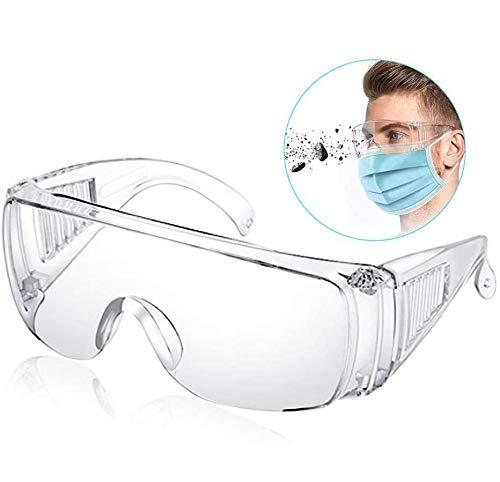 BESLIME - Gafas de seguridad, antiniebla, antipolvo, ligeras, antisalpicaduras, unisex