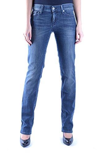 For Mcbi004014o Blu Jeans 7 Mankind Donna All Cotone dg4gAXw