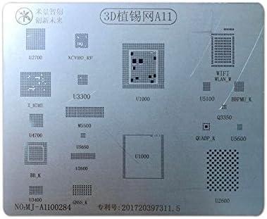 High Quality 3D BGA Reballing Stencils A8 A9 A10 CPU Soldering Repair Tools