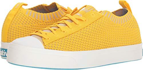 Native Shoes Unisex Jefferson 2.0 Liteknit Alpine Yellow/Shell White 6 Women / 4 Men M US ()