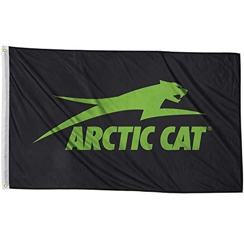 ArArctic Cat Aircat 2 x 3 Flag - Black & Green -