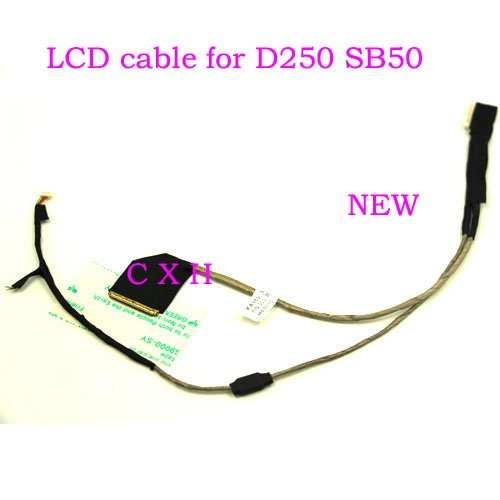Computer Cables LCD Screen Video Cable for Acer Aspire one D250 KAV60 KAVA0 AOD250 Cable D250 KAV60 LCD LVDS Cable DC02000SB10 - (Cable Length: Other)
