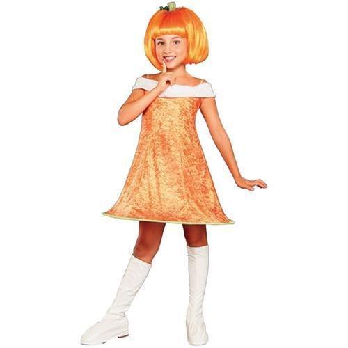 Pumpkin Spice Kids Costume - Child Large -