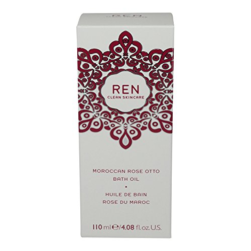 Moroccan Rose Otto Bath Oil - Ren Moroccan Rose Otto Bath Oil, 4.08 Fluid Ounce