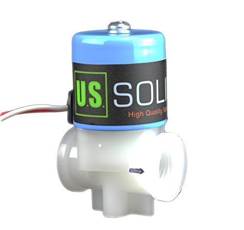 """Water Purifying Systems DC 24 V from U.S 1//4/"""" NPT Replacement Solenoid Valve for Reverse Osmosis RO Solid USS-RSV00003"""