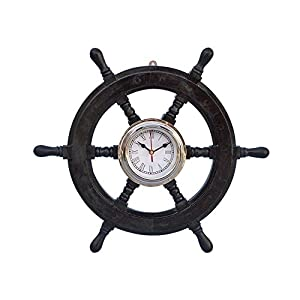 41sC942gV2L._SS300_ Best Ship Wheel Clocks