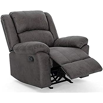 Peachy Amazon Com Noble House Kearney Glider Recliner In Slate And Short Links Chair Design For Home Short Linksinfo
