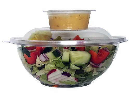 2 0z plastic containers with lids - 2