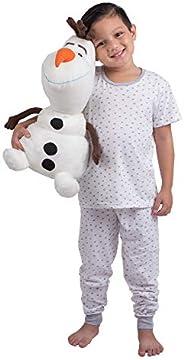 Franco Kids Bedding Super Soft Plush Snuggle Cuddle Pillow, One Size, Disney Frozen 2 Olaf