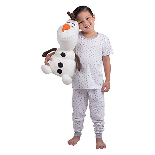 Olaf Stuffed Animal (Franco Kids Bedding Super Soft Plush Snuggle Cuddle Pillow, One Size, Disney Frozen 2)