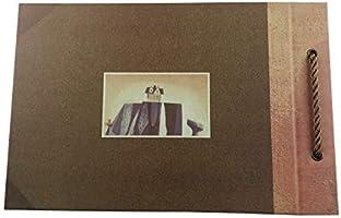 Álbum de fotos Potok de 12 x 9 pulgadas, páginas negras, ideal ...