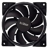 PCCOOLER 12cm RGB Light PC Cooling Fan 4 Pin PWM Quiet PC Case Chassis Fan