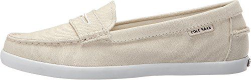 Cole Haan Womens Pinch Weekender Penny Loafer Sandshell Canvas