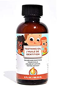 Punkin Butt Baby Teething Oil for Sore Gum Relief | All Natural, Organic, Safe for Infants, Chemical-Free (2 oz)
