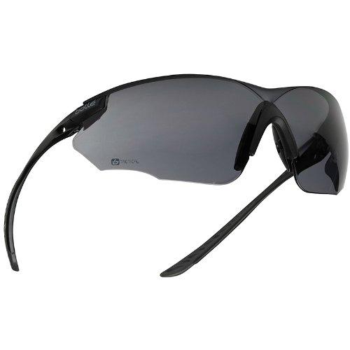 Bolle Combat Ballistic Spectacles - Clear, Smoke, ESP Lens Black - Sunglasses Best Duty