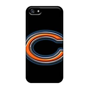 Flexible Tpu Back Case Cover For Iphone 5/5s - Chicago Bears
