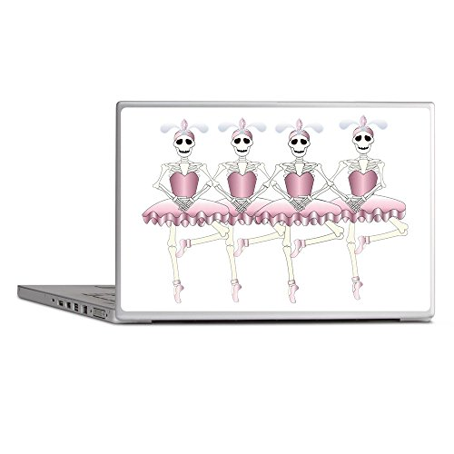 Laptop Notebook 11-12 Inch Skin Cover Dancing Ballarina Skeletons En Pointe ()