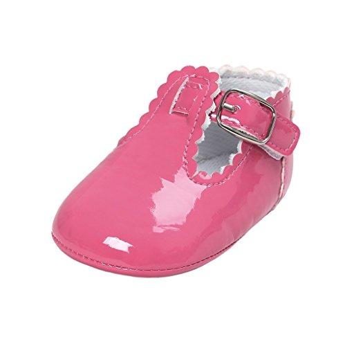29a41ac1 Primeros zapatos para caminar,Auxma La princesa del bebé Sola suave calza  las zapatillas de