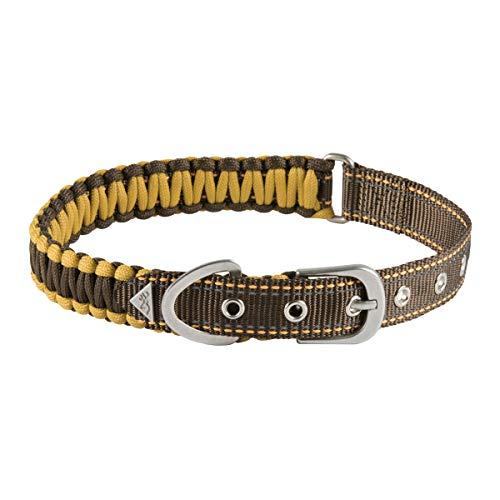 (Browning Survival Cord Dog Collar   Teak   Medium)