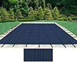 HPI Yard Guard Deck Lock RECTANGLE Swimming Pool BLUE Mesh Safety Cover - 12 Year Warranty (18 x 36)