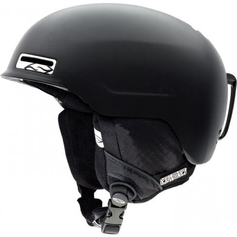 Smith Optics Maze Helmet (Large/59-63-cm, Matte Black), Outdoor Stuffs