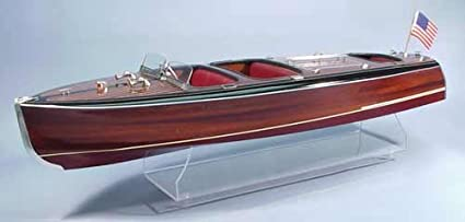 Amazoncom Dumas Chris Craft Triple Cockpit Barrel Back Wooden Boat