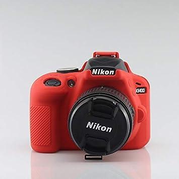 Funda Protectora de Silicona para cámara Canon EOS RP Nikon Z7 Z6 ...