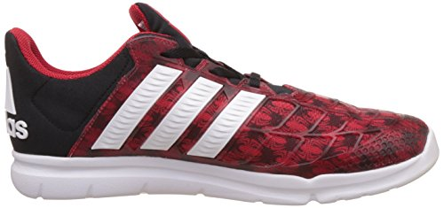 adidas Marvel Spider-Man K, Sneakers Basses Mixte Enfant, Rouge (Escarl/Ftwbla/Negbas), 39.5 EU