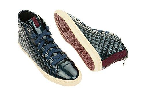 Geox D New Club - Zapatillas de deporte para mujer Azul - azul
