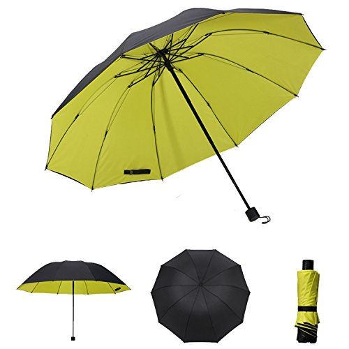 nine-cif-double-canopy-umbrella-windproof-lightweight-for-easy-carrying-yellow