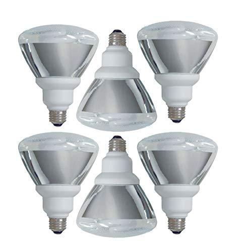 GE Lighting Energy Smart 26-Watt (90-Watt Replacement), 1300 Lumens, Indoor/Outdoor Floodlight (6 Bulbs)