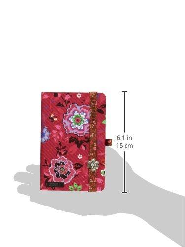 Flowers Flowers Flowers Beauty Lanybook Notizbuch, A6, kariert, inklusive Froschtasche, Hardcover, 192 Seiten, rot B00VMAJLYI | In hohem Grade geschätzt und weit vertrautes herein und heraus  | Spielzeugwelt, spielen Sie Ihre eigene Welt  | Marke  5ec9ac