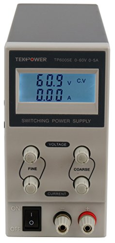 Tekpower TP6005E DC Adjustable Switching Power Supply 60V 5A Digital Display by Tekpower