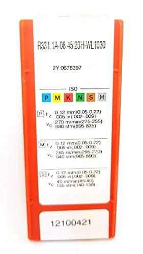 Sandvik R331.1A-08 45 23HWL Hartmetalleinsätze 1030 Frässpitzen #SA2