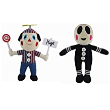 Five Nights at Freddy's Plush Doll Set of 2 (Hangers Balloon Boy and Clown) 10""