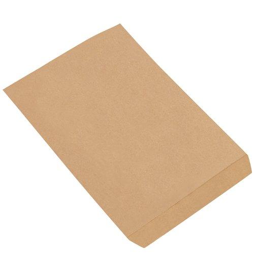 Aviditi BGM103K Flat Merchandise Bag, 8-1/2'' Length x 11'' Width, Kraft (Case of 4000) by Aviditi (Image #1)