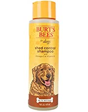Burt's Bees for Dogs Shed Control Shampoo with Omega 3's and Vitamin E, 16 Ozs