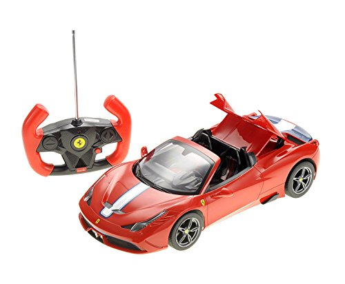 PowerTRC 1/14 Ferrari 458 Speciale A Red with Functional Convertible - Specials Ferrari