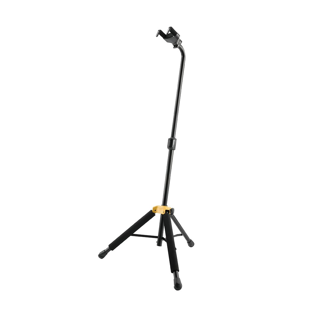 Hercules GS414B PLUS Standard Guitar Stand with Auto Grip System (AGS) Single Guitar Stand