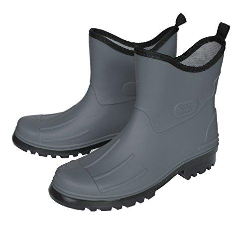 BOCKSTIEGEL® PETER Hombres - Cargadores del tobillo de goma (Tamaños: 41-48) gris