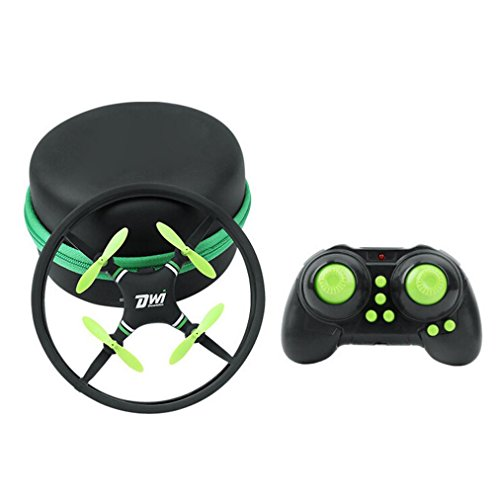 ng Mini Super Durable Space For Trek 2.4GHz 4-Axis 4CH RC Quadcopter (Green) (Super Hovercraft)