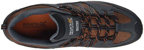 Regatta Herren Samaris Low Trekking-& Wanderhalbschuhe Orange (Orange/briar)