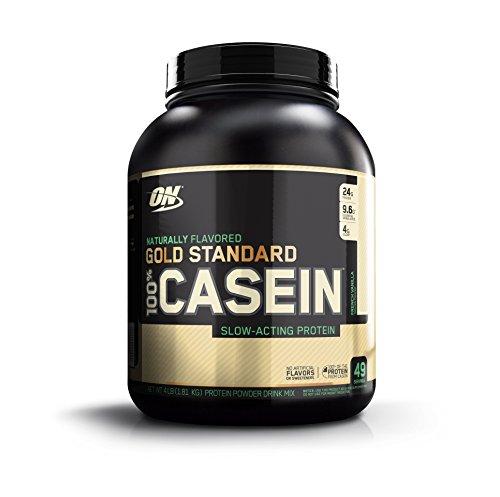 [Optimum Nutrition Gold Standard 100% Casein Protein Powder, Naturally Flavored French Vanilla, 4 Pound] (Optimum Flavored Vitamins)