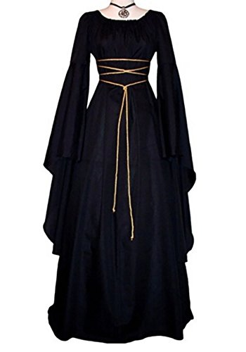 Makkrom Women's Renaissance Medieval Irish Gothic Victorian Dress Costume