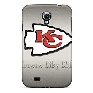 Samsung Galaxy S4 HYD13195jTkY Support Personal Customs Realistic Kansas City Chiefs Pictures Protector Hard Phone Cases -KellyLast